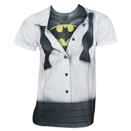 Batman Men's Tuxedo Costume T-Shirt