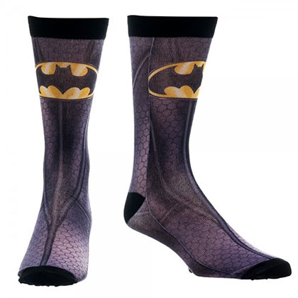 Batman Sublimated Bat Logo Socks