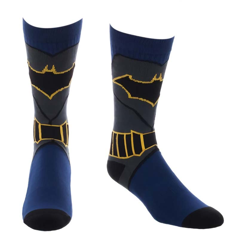 Batman Men's Costume Crew Socks