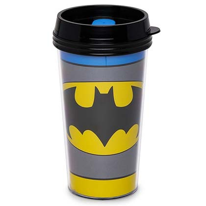Batman Plastic Travel Mug