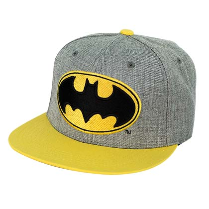 Batman Flat Bill Wool Hat