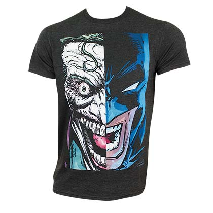 Batman Men's Black Joker Fusion T-Shirt