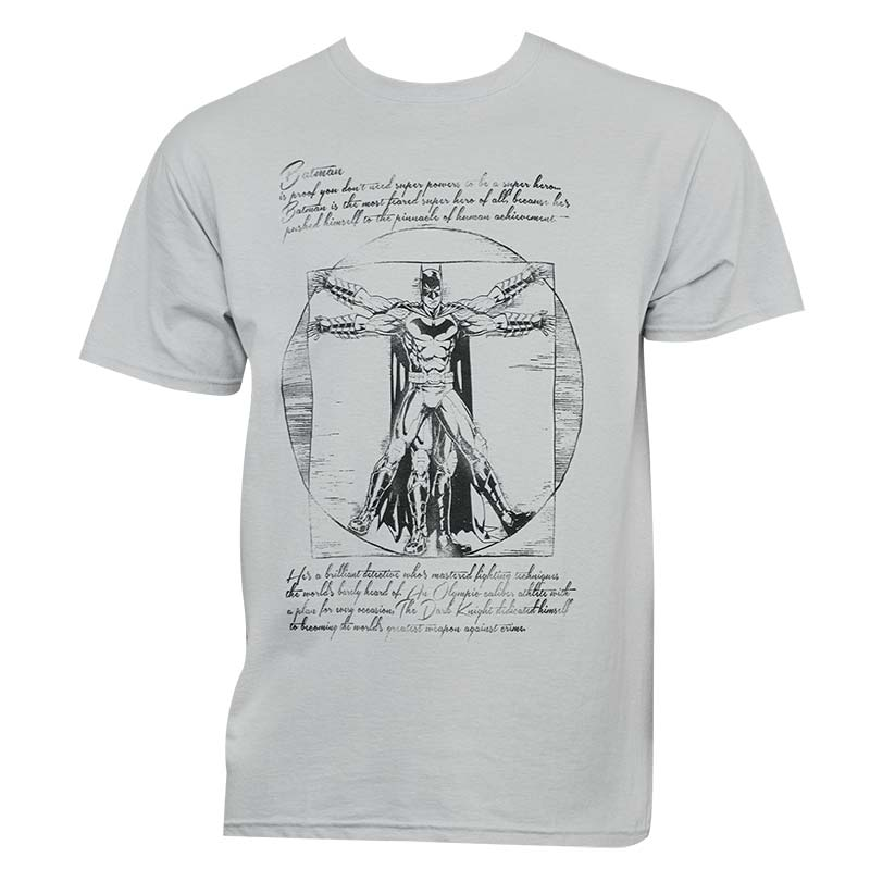 Batman Vitruvian Tee Shirt