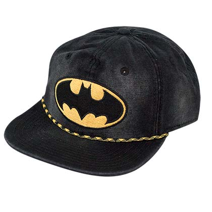 Batman Comic Washed Hat