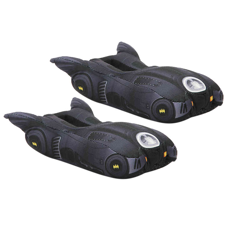 Batman Black Batmobile Toddler Slippers