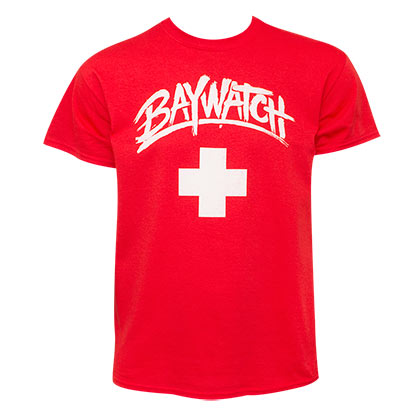 Baywatch Men's Classic Red T-Shirt