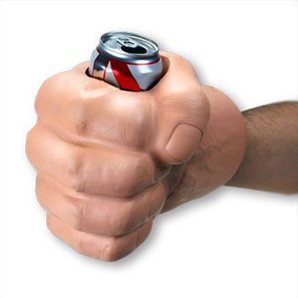 Hulk Hand Beer Can Cooler