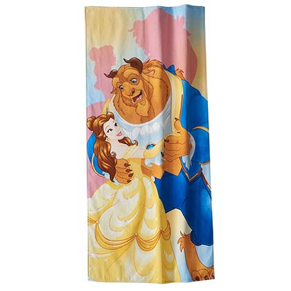 Beauty And The Beast Dancing Beach Towel
