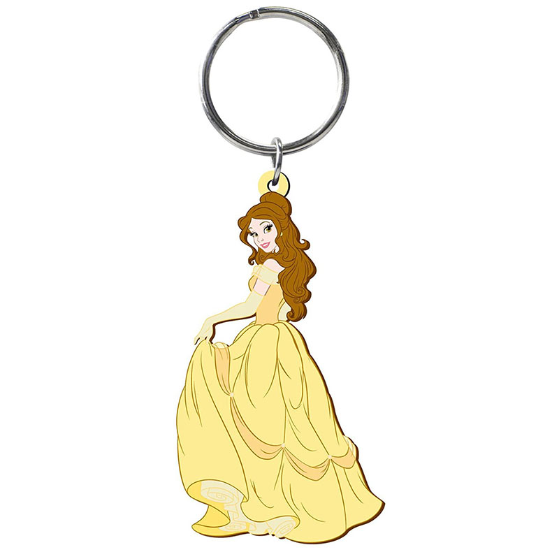 Beauty And The Beast Soft Touch Belle Keychain