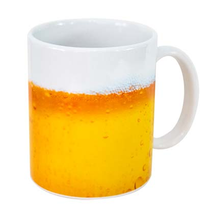 Faux Beer Coffee Mug