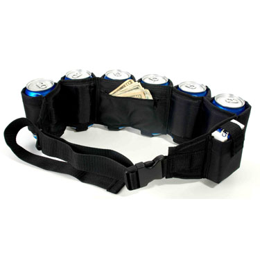 Belt buckle beer holder amazon