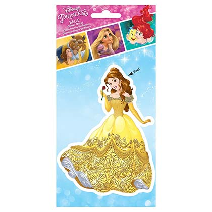 Beauty and the Beast Belle 4 Inch Sticker