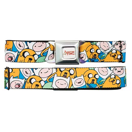 Adventure Time Jake And Finn Seatbelt Belt