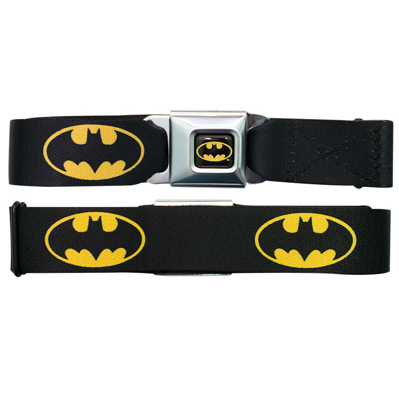 Batman Logo Seatbelt Belt