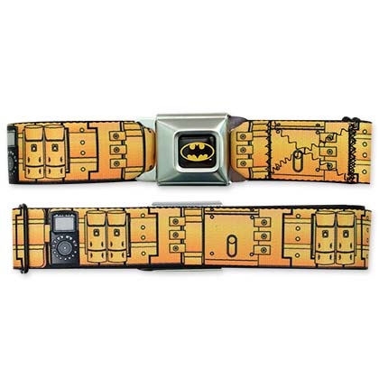 Batman Utility Seatbelt Buckle Belt