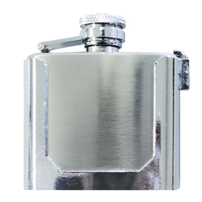 Stainless Steel Removable Belt Buckle Flask