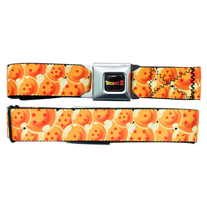 Dragon Ball Z Dragonballs Seatbelt Belt
