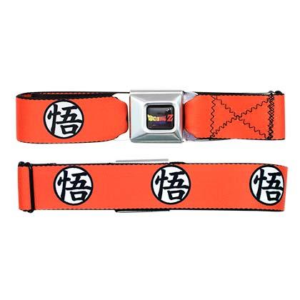 Dragonball Z Orange Seatbelt Belt