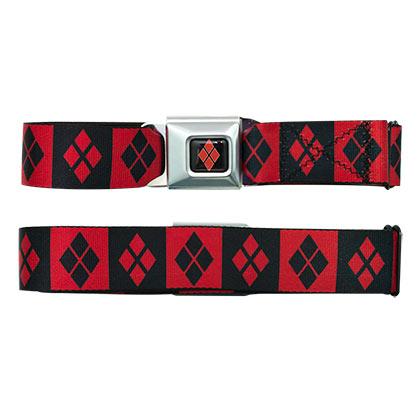 Harley Quinn Logos Seatbelt Belt