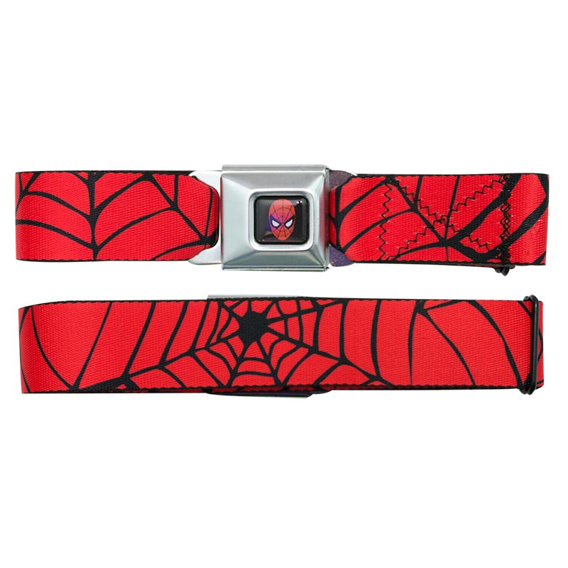 Spiderman Web Seatbelt Belt