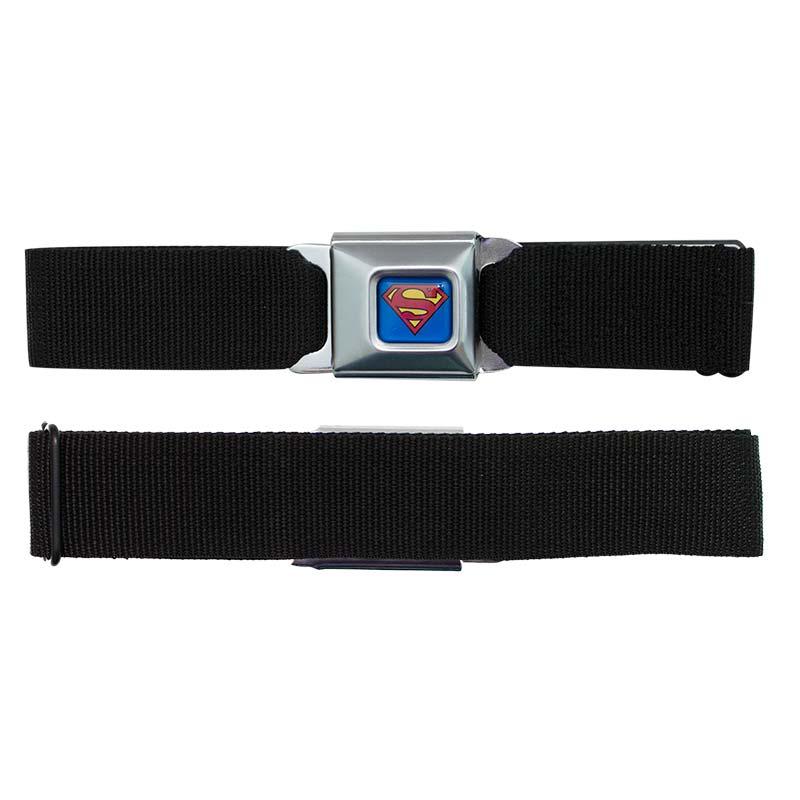 Superman Blank Seatbelt Buckle Belt