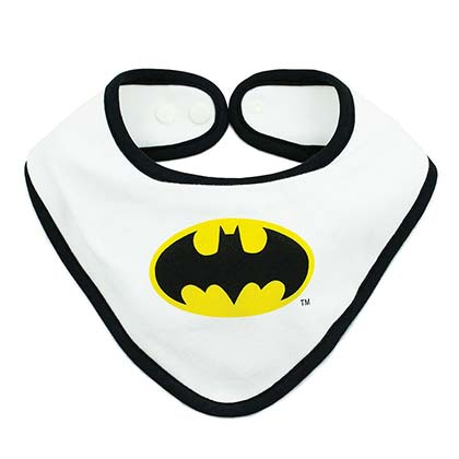 Batman Waterproof Superhero Bib