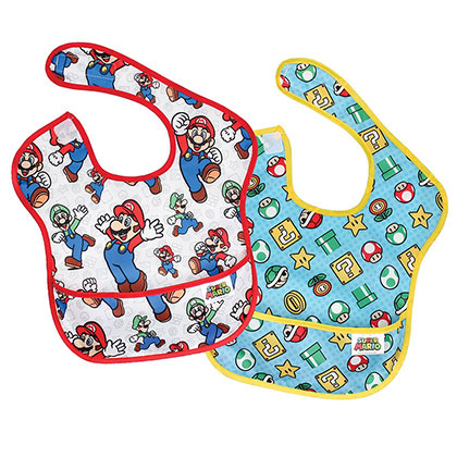 Nintendo Mario Bib Two Pack