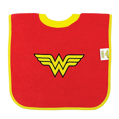 Wonder Woman Pullover Superhero Bib