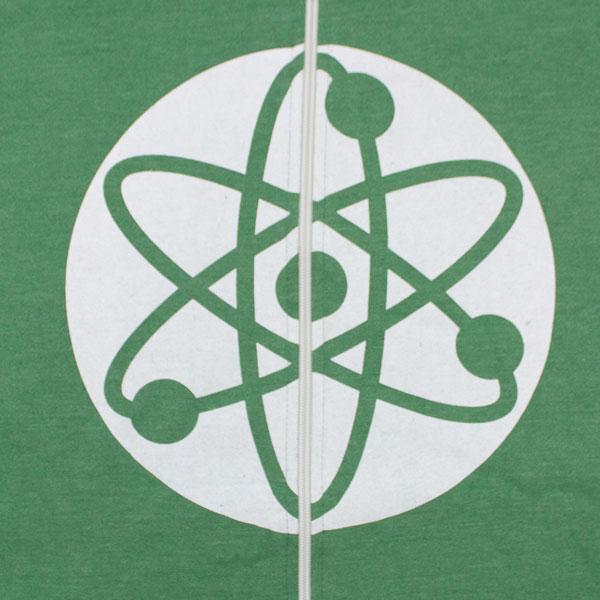 Big Bang Theory Atom Hooded Sweatshirt Superheroden