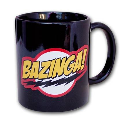 The Big Bang Theory Bazinga Coffee Mug - Black