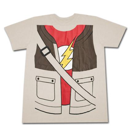 Big Bang Theory Sheldon T-Shirt - Tan
