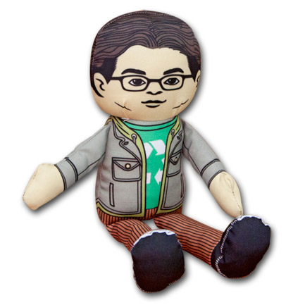 Big Bang Theory Leonard Plush Doll