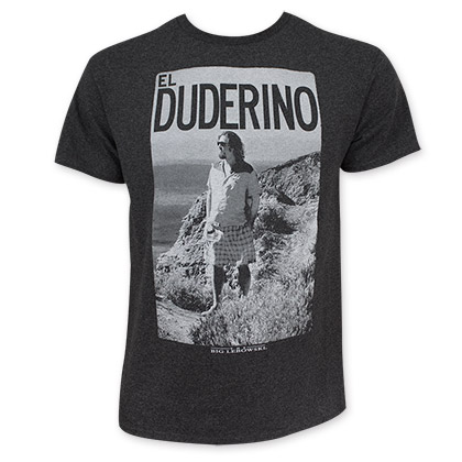 The Big Lebowski Men's Gray El Duderino T-Shirt
