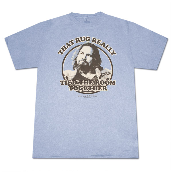 The Big Lebowski That Rug Tied The Room Together Blue TShirt