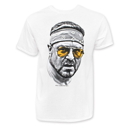 The Big Lebowski Orange Glasses Walter Tee Shirt