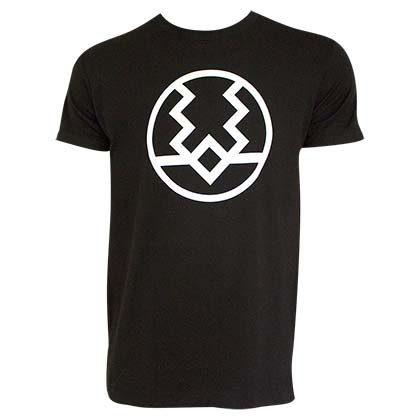 Black Bolt Logo Tee Shirt