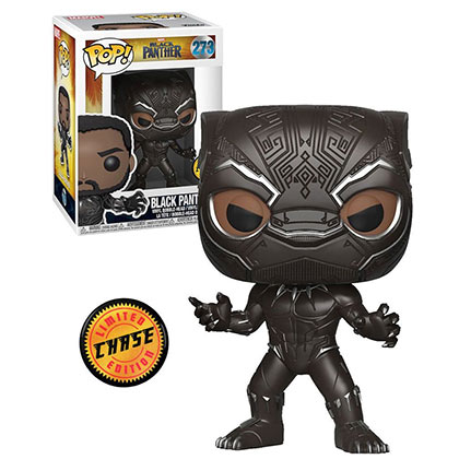 Black Panther Masked Limited Edition Chase Funko Pop #273 Vinyl Figure