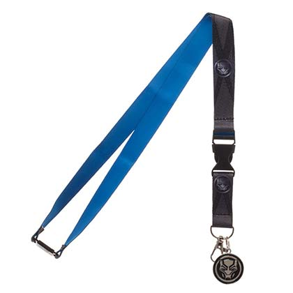 Black Panther Movie Logo Lanyard
