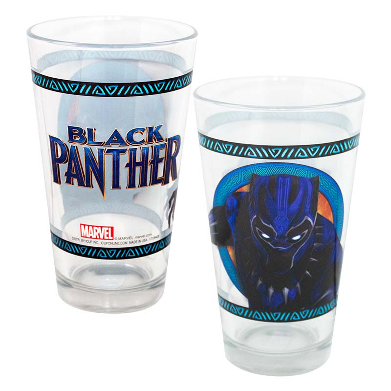 Black Panther Pint Glass
