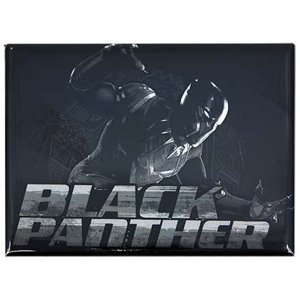 Black Panther Spotlight Movie Logo Magnet