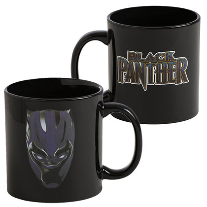 Black Panther Color Changing Mug