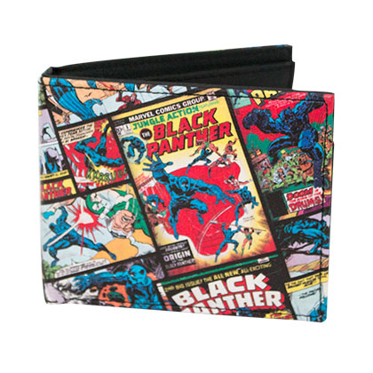 Black Panther Comic Bifold Wallet