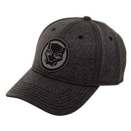 Black Panther Comic Logo Flex Fit Hat