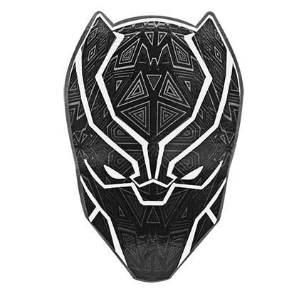 Black Panther Mask Sticker