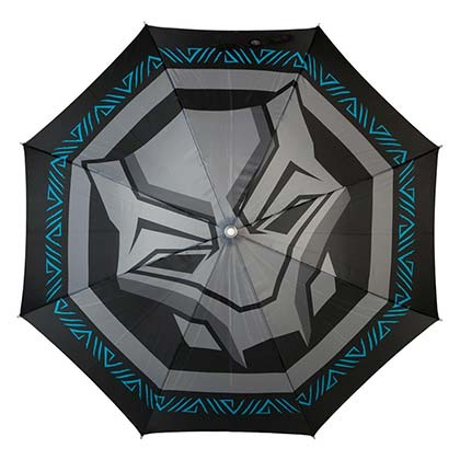 Black Panther Logo LED Flashlight Umbrella