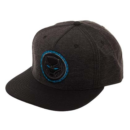 Black Panther Black Snapback Hat