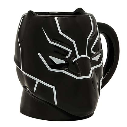 Black Panther Face Mask Mug
