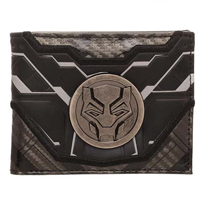 Black Panther Bifold Medallion Wallet