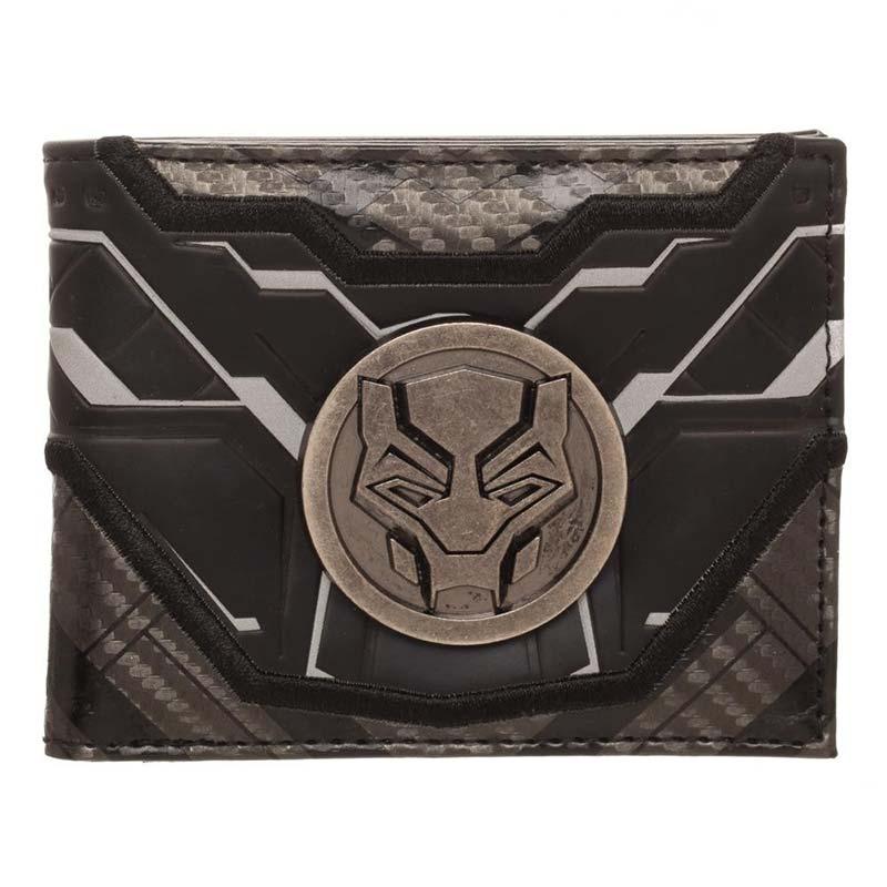 Black Panther Bifold Medallion Wallet