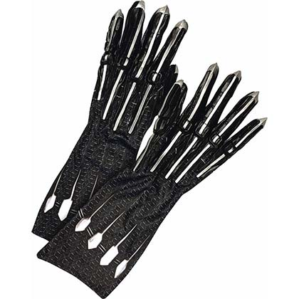 Black Panther Black Adult Gloves